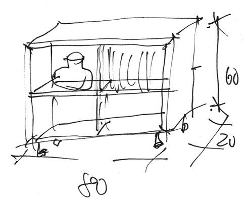 Möbel Design, stimmige authentische Möbel in individuellen Räumen