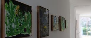 Kunst inspiriert und belebt moderne Innenräume